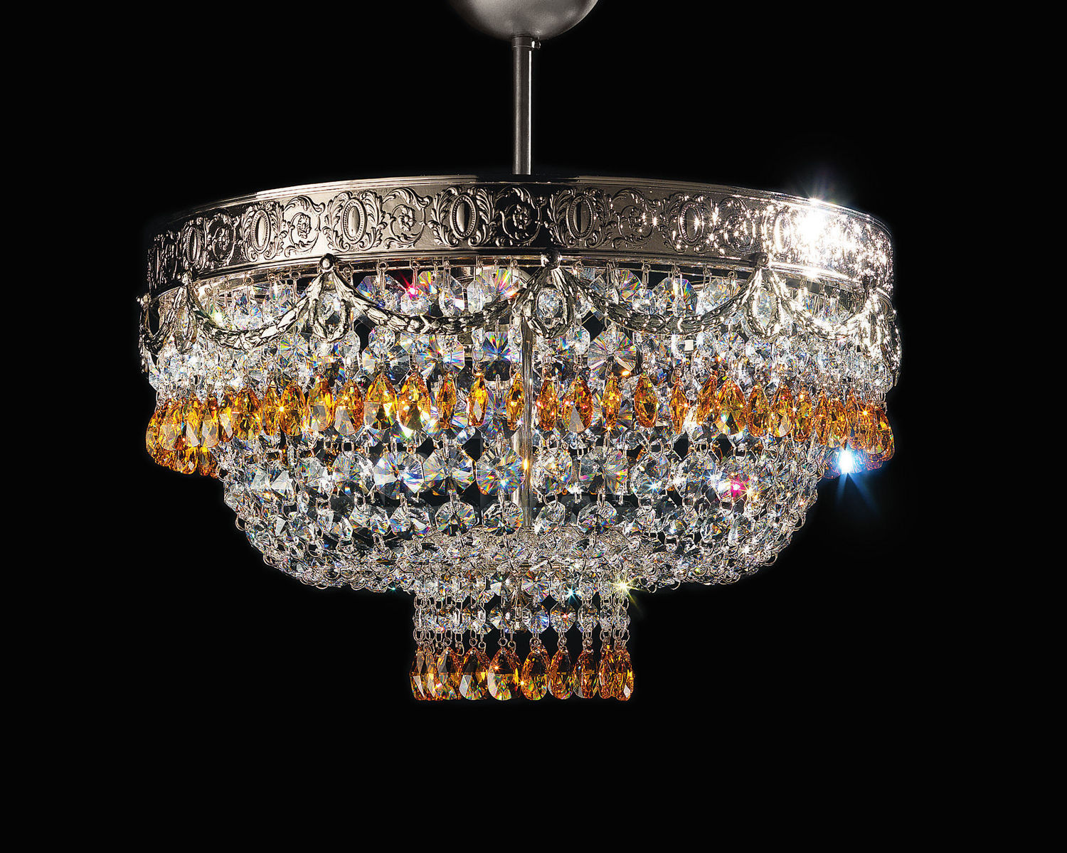 Купить Люстра Non Solo Luce Ceiling Lamps MILANO CL-06 PN