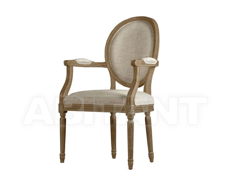 Купить Стул с подлокотниками Louis Arm Chair Gramercy Home 2014 441.001-F01