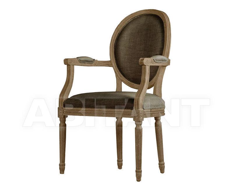 Купить Стул с подлокотниками Louis Arm Chair Gramercy Home 2014 441.001-F02