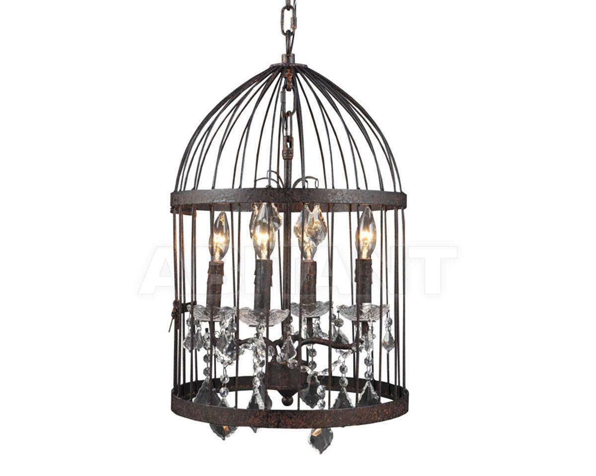 Купить Светильник SMALL BIRDCAGE CRYSTAL CHANDELIER  Gramercy Home 2014 CH008-4-ABG-CRS