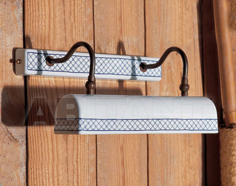 Купить Светильник настенный Aldo Bernardi srl I Classici In Ceramica 9522