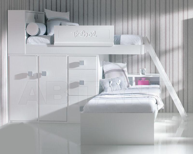 Купить Кровать детская Trebol Juvenil Dinamyc 01.30.101 2