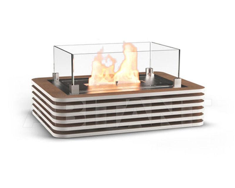 Купить Биокамин Milwood.M Glamm Fire Portable GF0038-2-OP white-oak