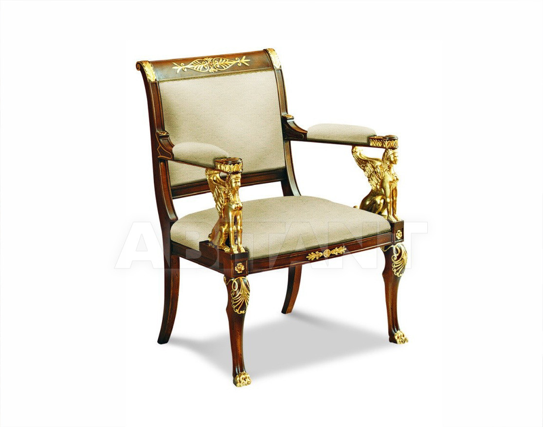 Купить Стул с подлокотниками Francesco Molon Upholstery P19