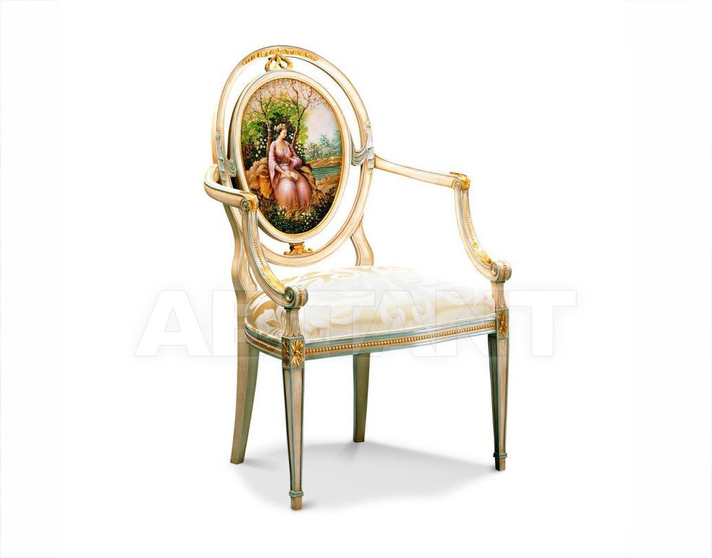 Купить Стул с подлокотниками Francesco Molon Upholstery P309