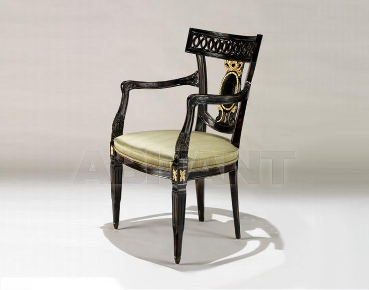Купить Стул с подлокотниками Francesco Molon Upholstery P312