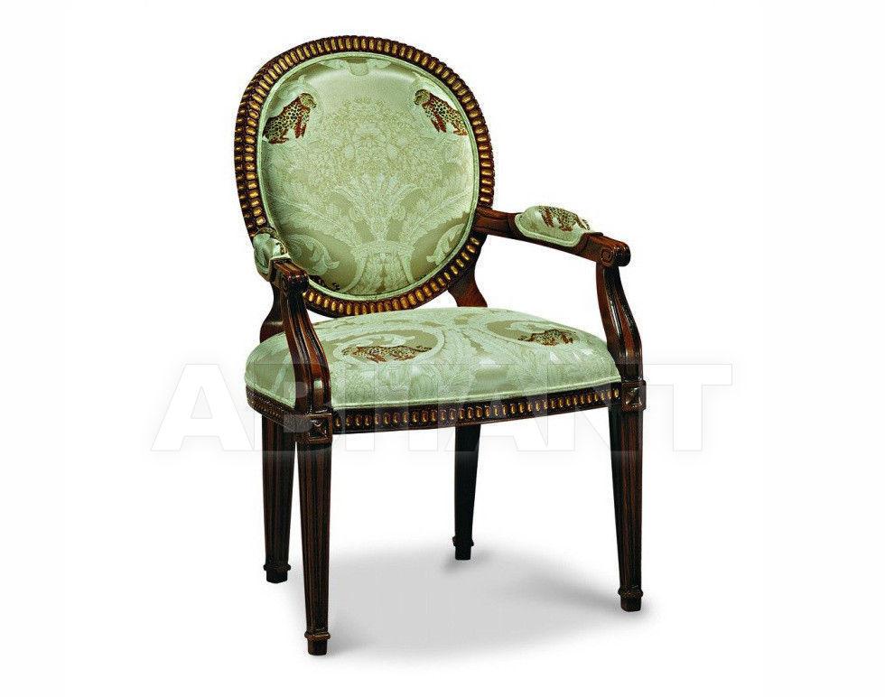 Купить Стул с подлокотниками Francesco Molon Upholstery P196C