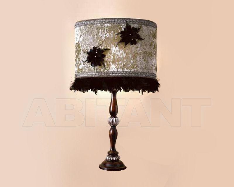 Купить Лампа настольная Antico Borgo by CGM Glamour Silver 1306