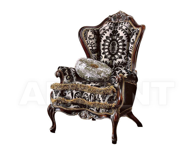 Купить Кресло Antico Borgo by CGM Glamour Silver 526