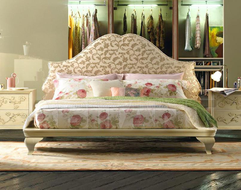 Купить Кровать F.M. Bottega d'Arte Flowers 833