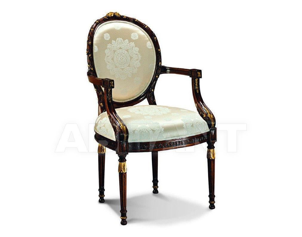 Купить Стул с подлокотниками Francesco Molon Upholstery P150