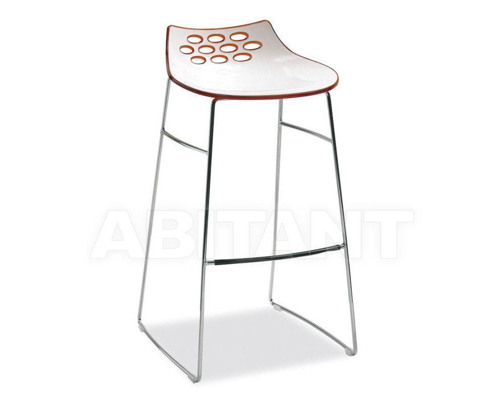 Купить Барный стул JAM Connubia by Calligaris Dining CB/1033 P77, P799-P851