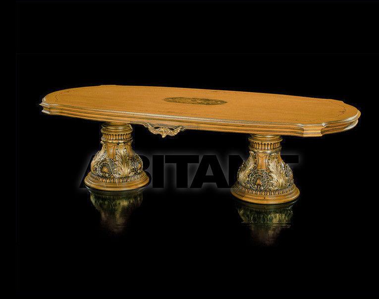 Купить Стол обеденный Fratelli Radice 2012 370 tavolo ovale con 2 basi 2