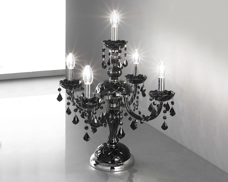 Купить Лампа настольная OR Illuminazione s.r.l.  2013 454/FL4+1 TC CR NERO