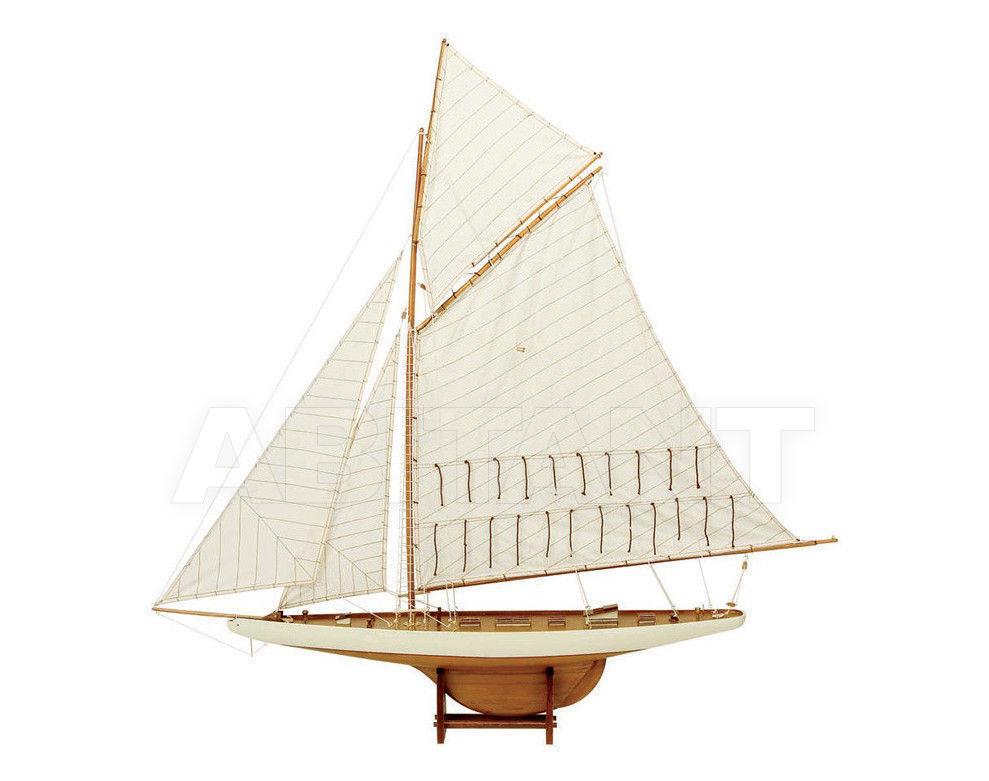 Купить Интерьерная миниатюра America's Cup display yacht Caroti Srl Vecchia Marina 7438