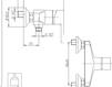 Схема Смеситель для раковины Giulini Corner 6808 Современный / Скандинавский / Модерн