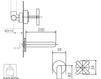 Схема Смеситель для раковины Giulini Elica 9220 Современный / Скандинавский / Модерн