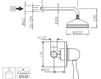 Схема Душевая система Giulini Harmony 9515WB Современный / Скандинавский / Модерн