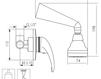 Схема Душевая система Giulini Giada 2215WB Современный / Скандинавский / Модерн
