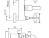 Схема Смеситель для ванны Giulini G5 7901 Современный / Скандинавский / Модерн