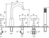 Схема Смеситель для ванны Giulini G5 7960 Современный / Скандинавский / Модерн