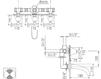 Схема Смеситель настенный Giulini Praga Crystal 7503/S Современный / Скандинавский / Модерн