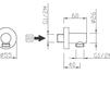 Схема Шланговое подключение Giulini Programma Docce 1510CL Современный / Скандинавский / Модерн