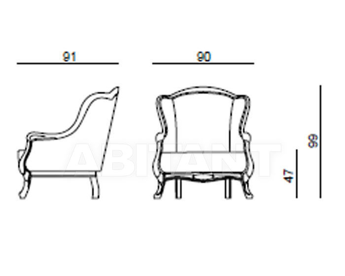 Английское кресло с ушами своими руками с размерами 84