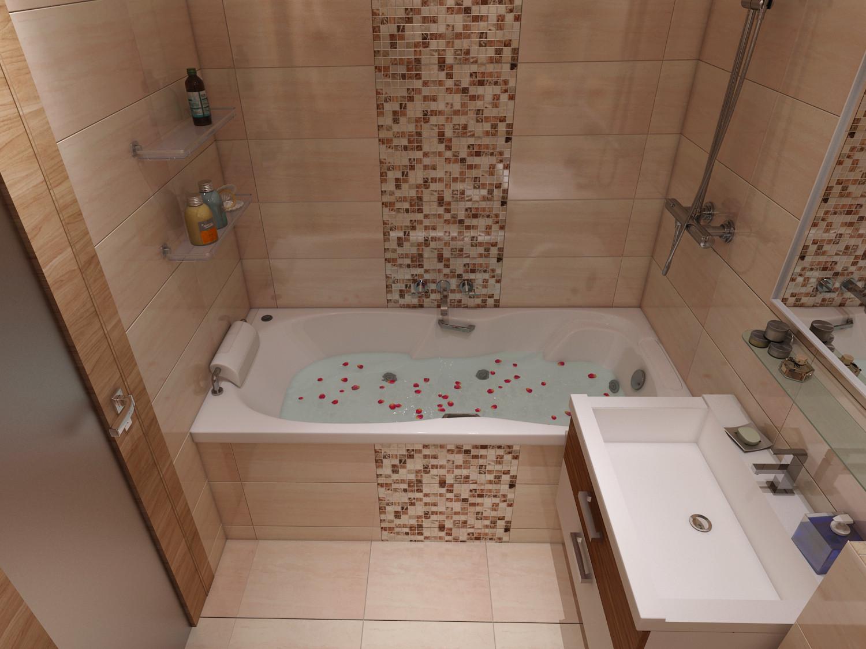 Фото интерьеров квартир интерьер ванных комнат 28 фотография