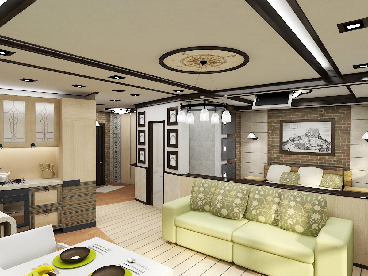 Дизайн проект ремонта квартир