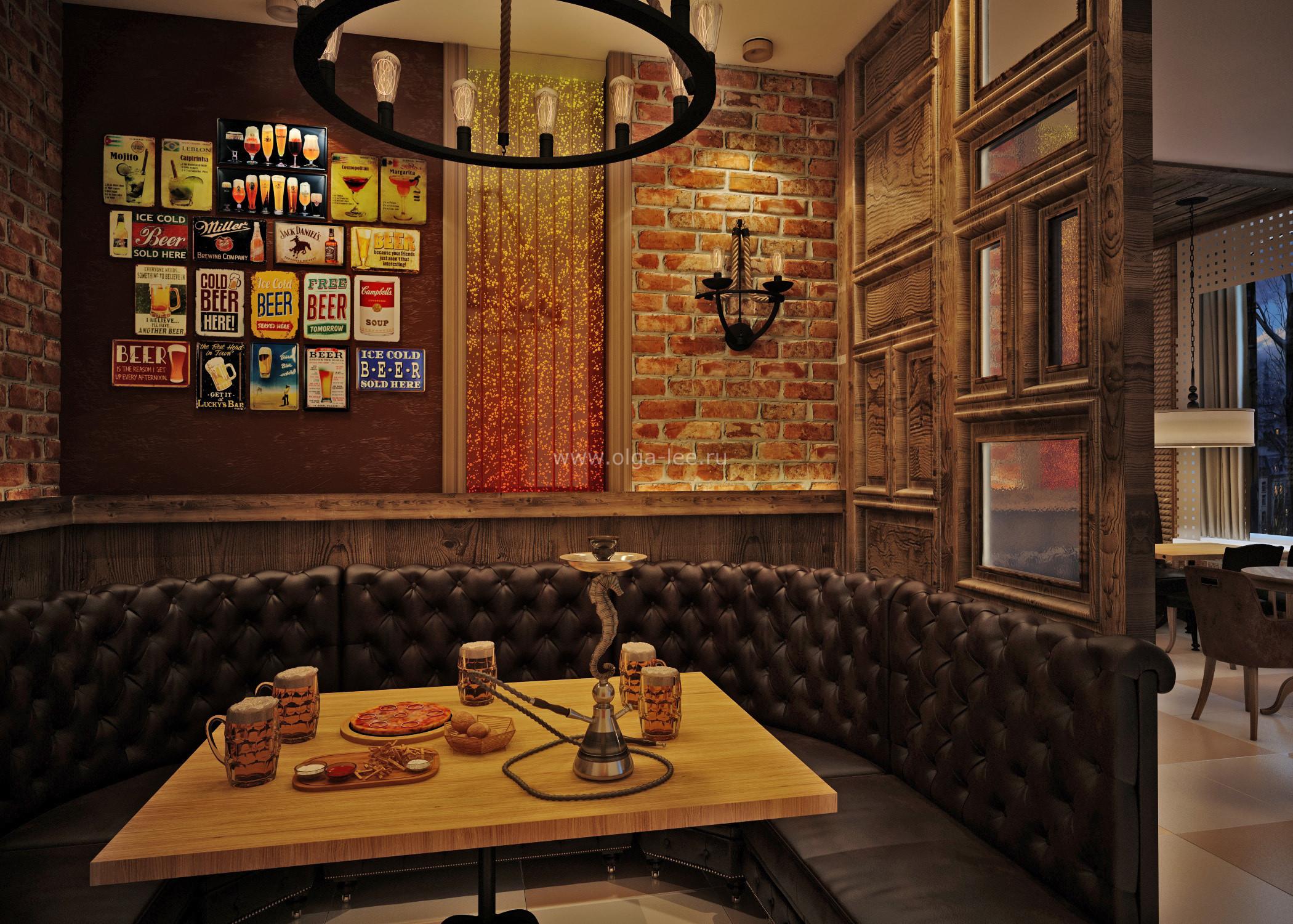 Дизайн баров цены