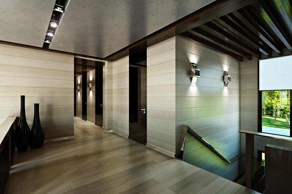 Дизайн 2 этажа частного дома фото