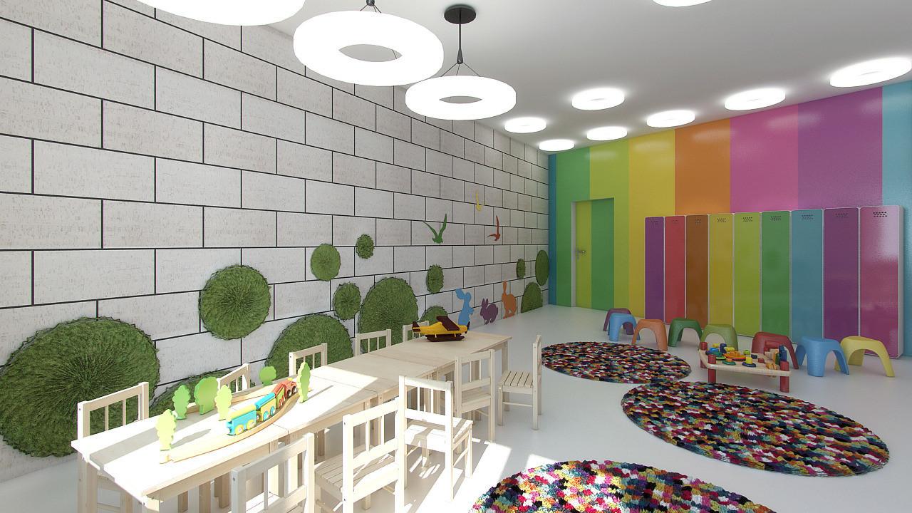 Дизайн проект детский центр