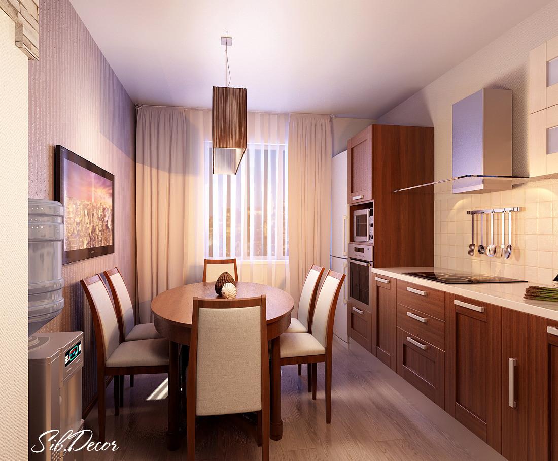 Дизайн типовой кухни фото