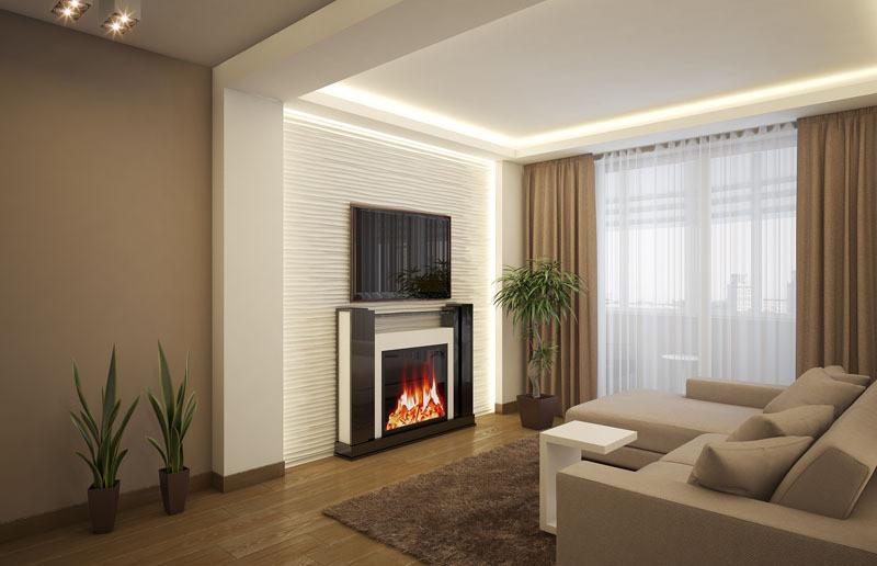 Дизайн однокомнатной квартиры п44т