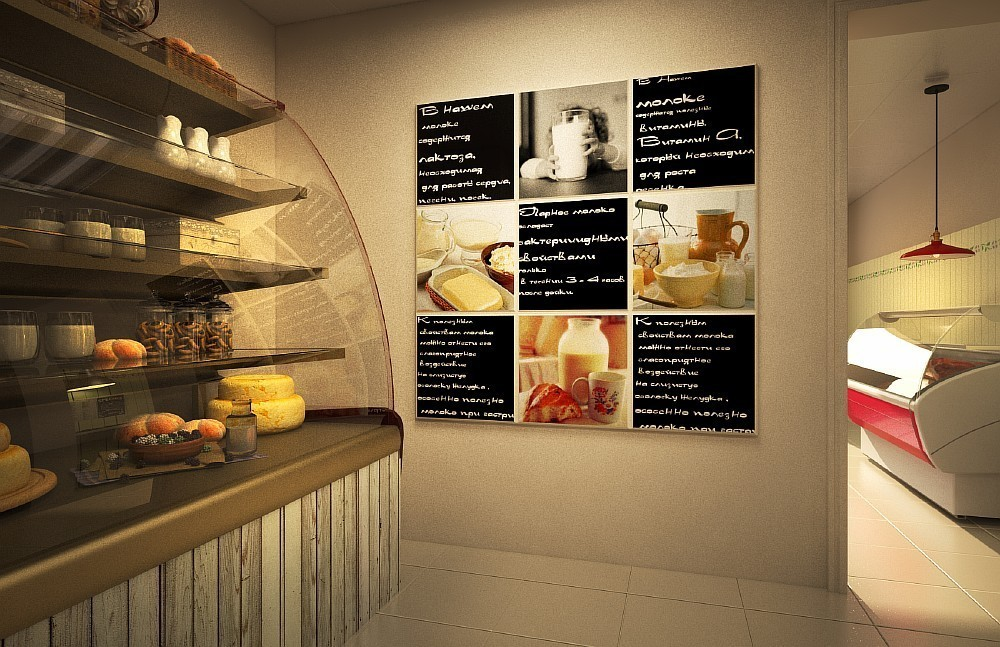 Дизайн магазина продуктов фото