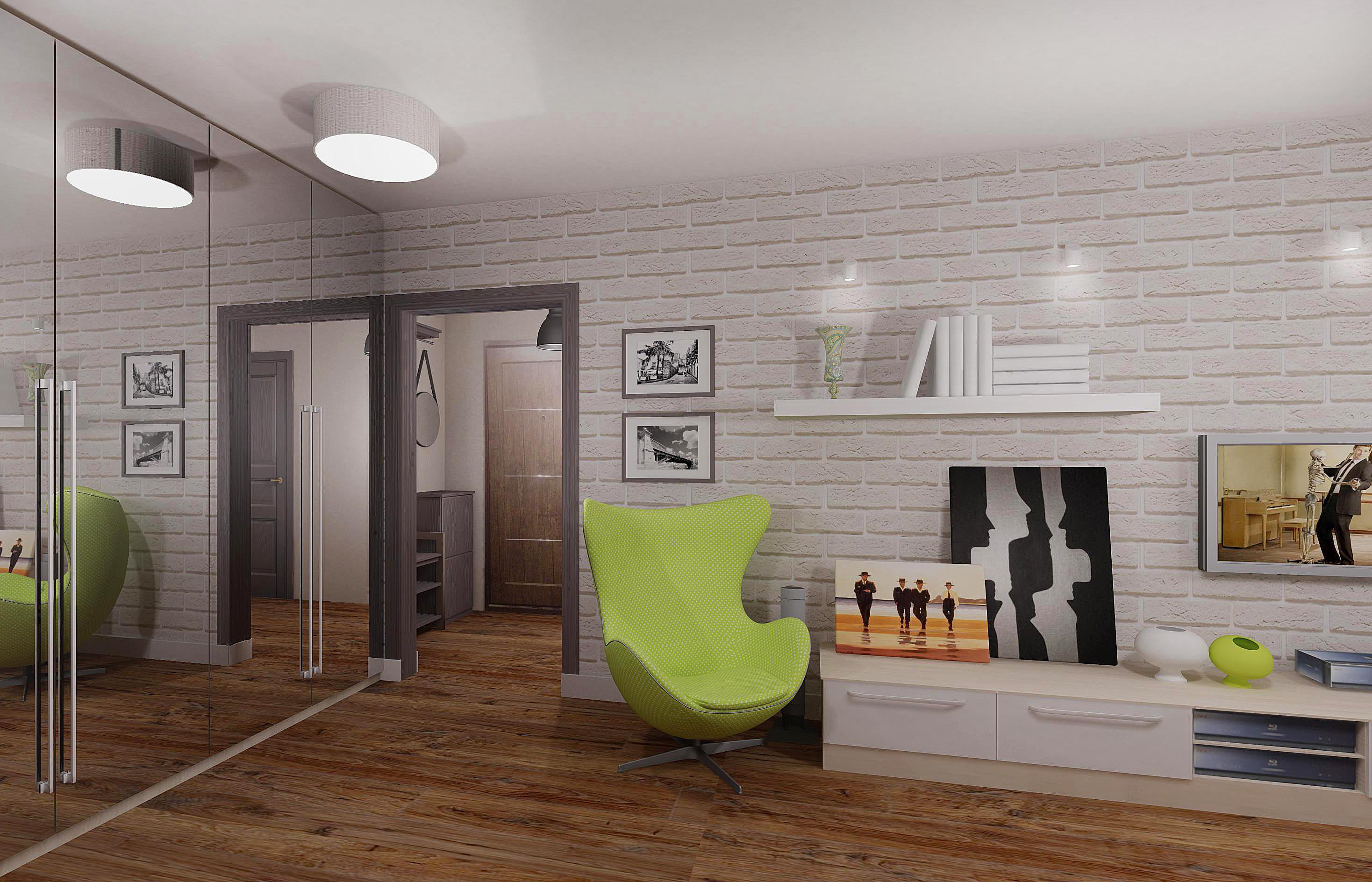 Дизайн в домах серии п 44т.