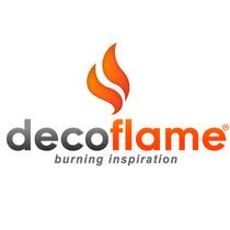 Decoflame logo white biokaminy decoflame semenova med