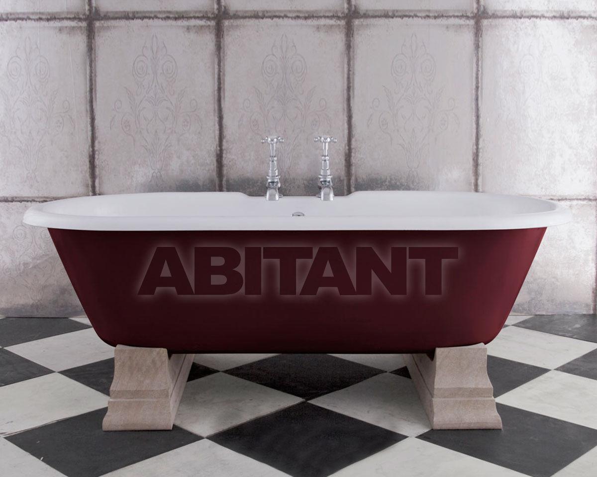 Купить Ванна Camargue Hurlingham Bath Company  2015 Camargue in Brinjal with Sandstone Plinths