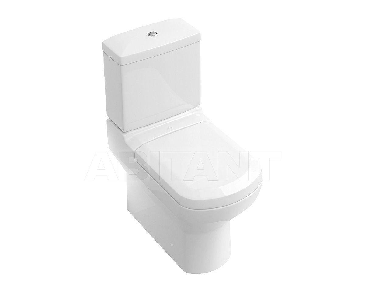 Купить Унитаз напольный SENTIQUE Villeroy & Boch Bathroom and Wellness 5615 10 + 5715 11