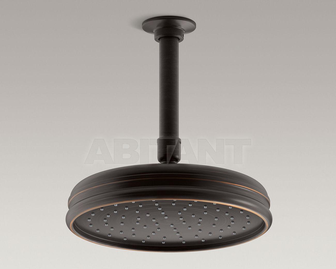 Купить Лейка душевая потолочная Traditional Round Kohler 2015 K-13692-2BZ