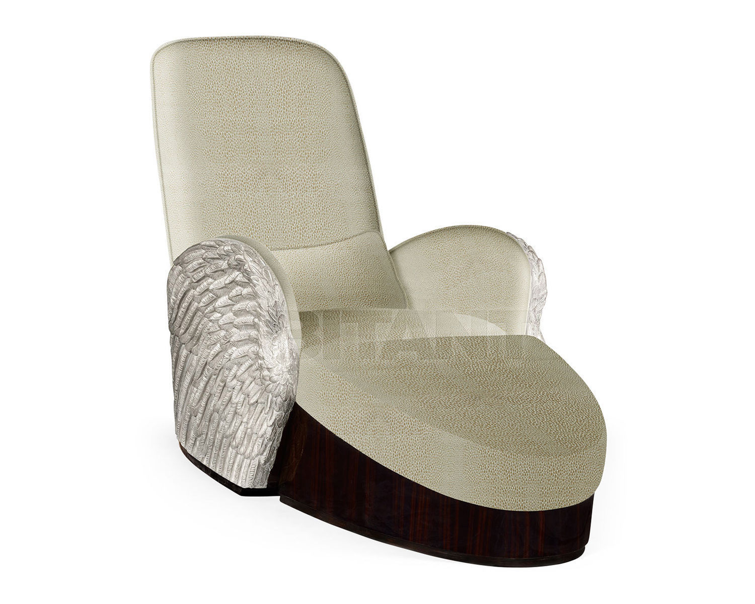 Купить Кушетка Angel Wing Jonathan Charles Fine Furniture JC Modern - Icarus Collection 495349-SIL-FCOM