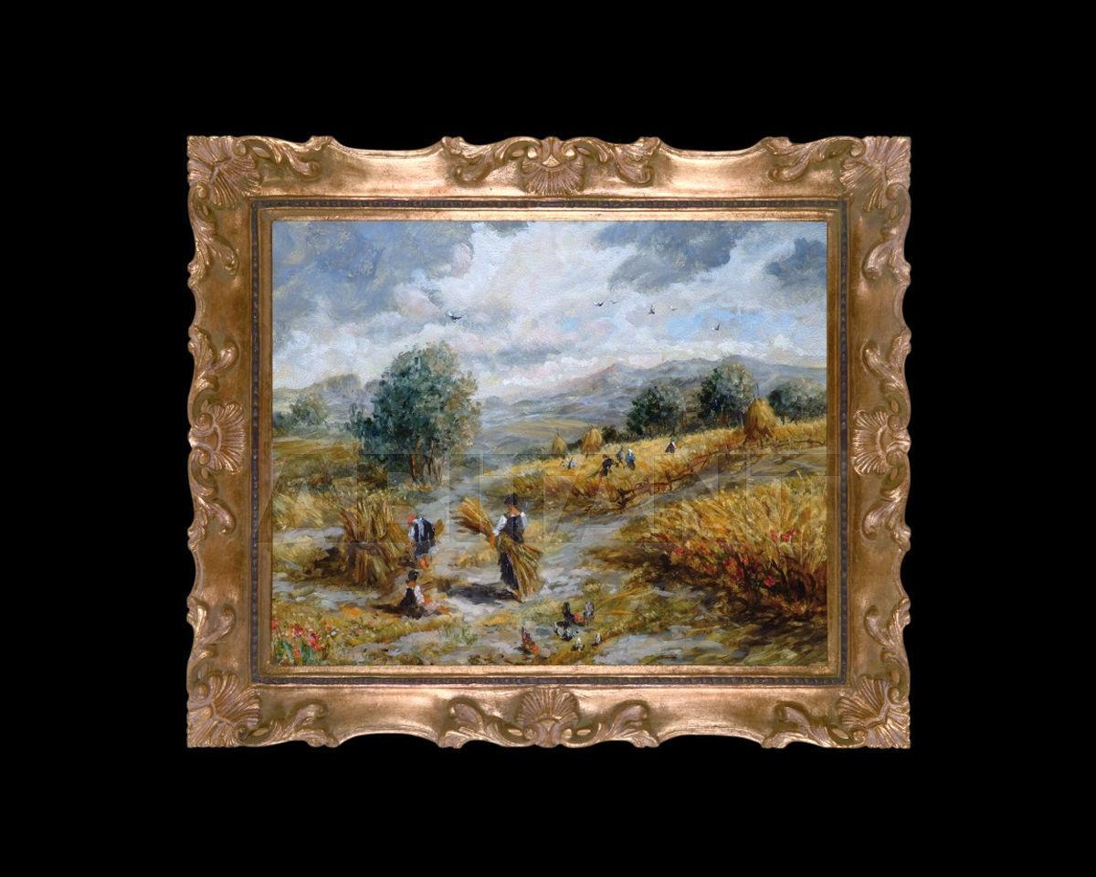 Купить Картина The harvest time Barj - Buzzoni s.r.l. IMPRESSIONIST VIEWS 117