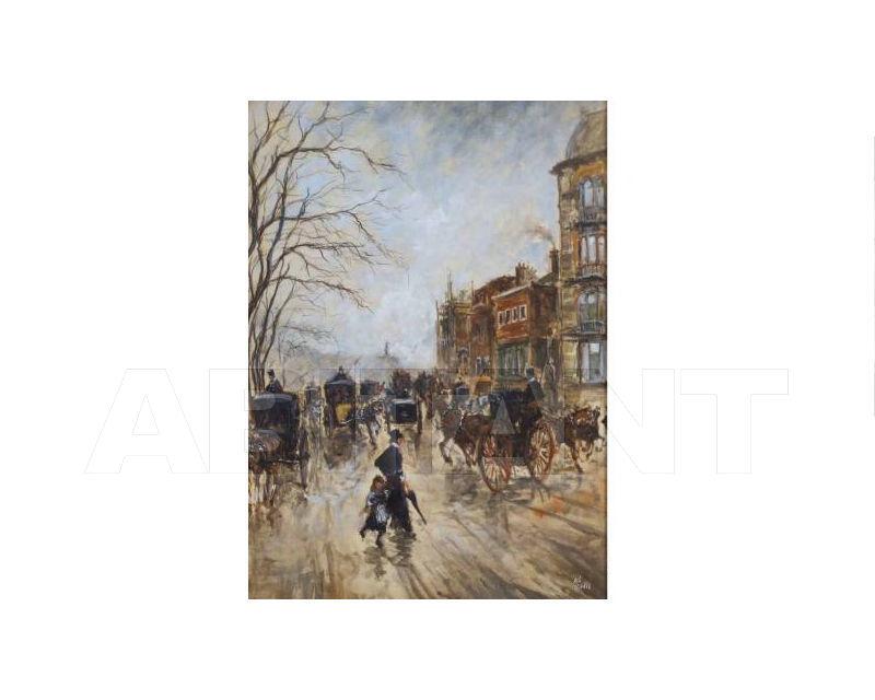 Купить Картина Boulevard in Paris Barj - Buzzoni s.r.l. IMPRESSIONIST VIEWS 82