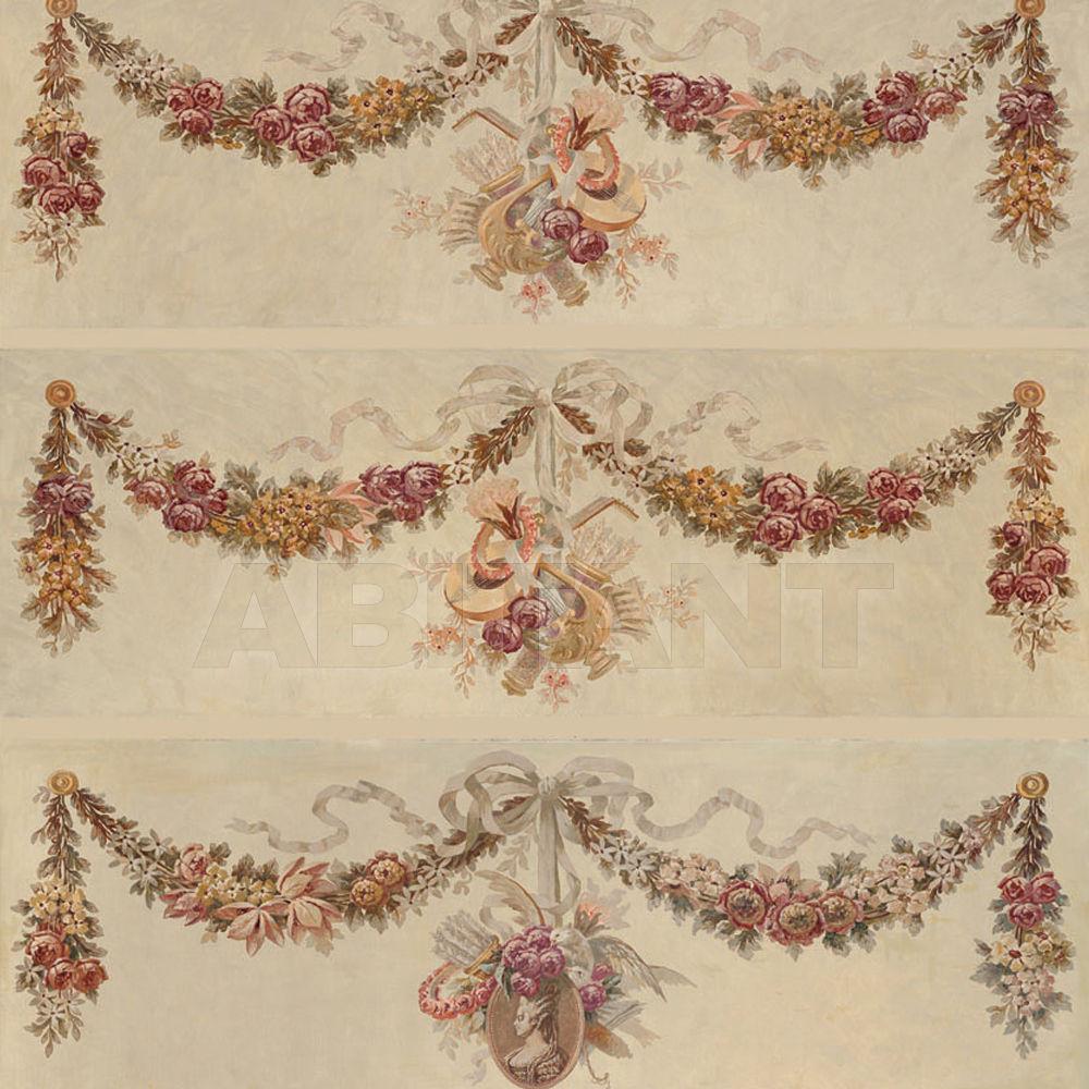 Купить Бумажные обои Iksel  Decorative Panels 19th century garlands