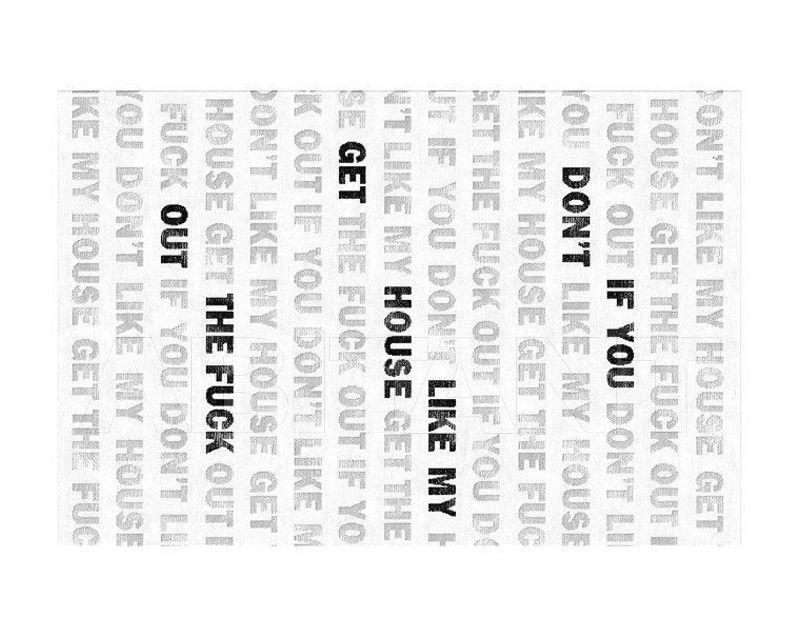 Купить Ковер дизайнерский Illulian & C. s.n.c Design Collection 201W 566S 021S FCUK