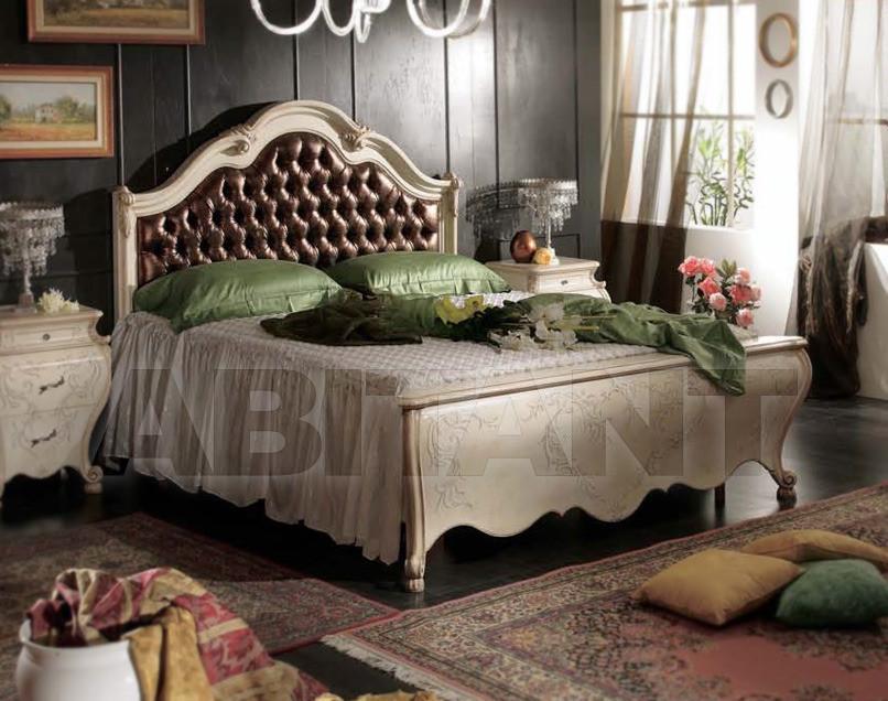 Купить Кровать Tarocco Vaccari Group Luxury P762 White