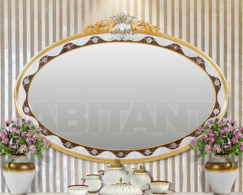 Купить Зеркало настенное Stil Salotti di Origgi Luigi e Figli s.n.c. 2017 LILIUM Mirror