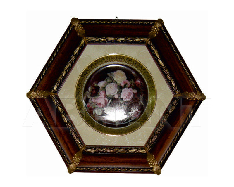 Купить Декоративное панно Italia Cornici di Caccaviello Antonino Artistic Plates C36 1