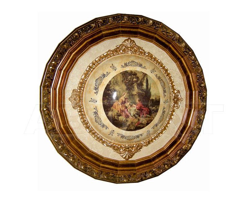 Купить Декоративное панно Italia Cornici di Caccaviello Antonino Artistic Plates TONDO B